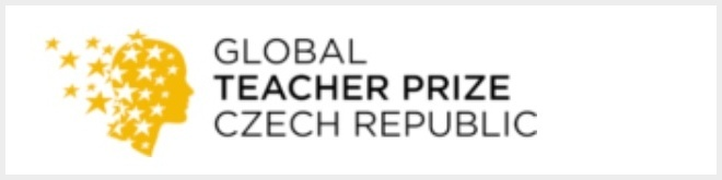 Logo soutěže Global Teacher Prize Czech republic