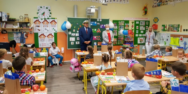 Slavnostní zahájení školního roku prvňáků