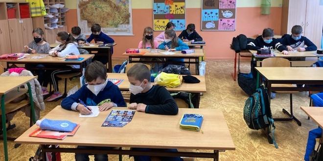 Žáci po návratu do škol