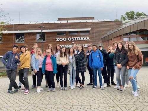 Třída 9.A v zoo v Ostravě f01