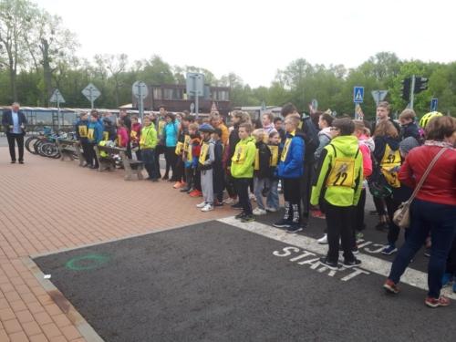 Městské kolo Dopravní soutěže mladých cyklistů f01