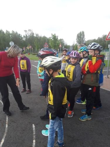 Městské kolo Dopravní soutěže mladých cyklistů f02