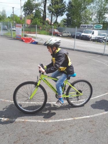 Městské kolo Dopravní soutěže mladých cyklistů f03