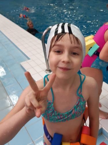 Prvňáci v bazénu ZŠ F. Hrubína f05