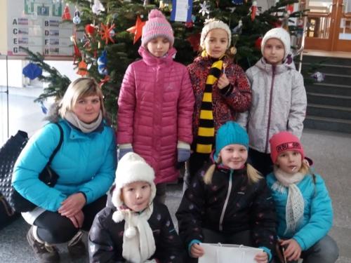 Úspěch ŠD v soutěži havířovských škol o nejkrásnější vánoční ozdobu f03