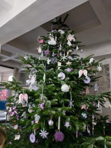 Vánoční ozdoby dětí ŠD získaly diplom f03